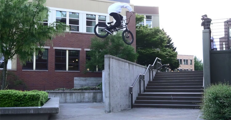 Odyssey BMX – Tom Dugan: 48 Hours In Seattle