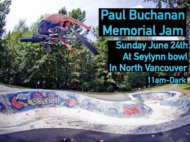 Paul Buchanan Memorial Jam BMX