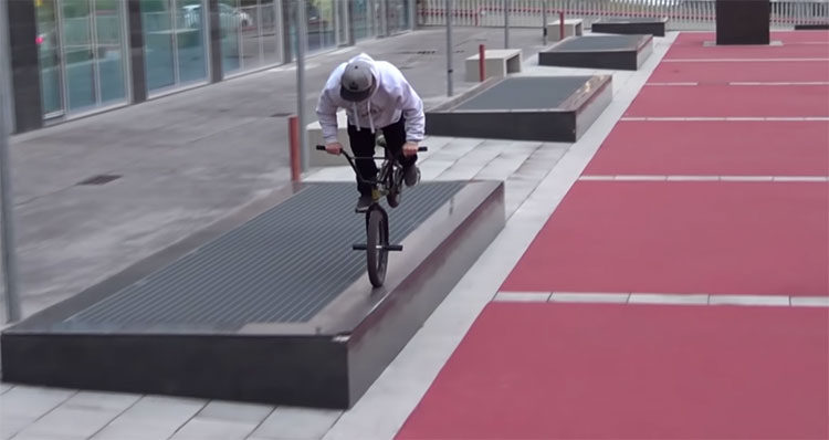 PS Homies Barcelona BMX Video