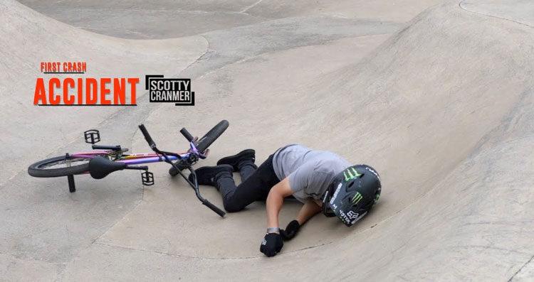 Scotty Cranmer – First Crash Since My Accident