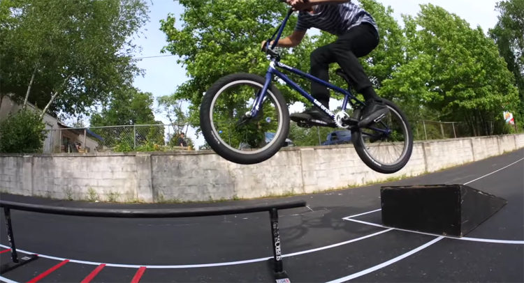 Scotty Cranmer Gap To Grind Challenge BMX video