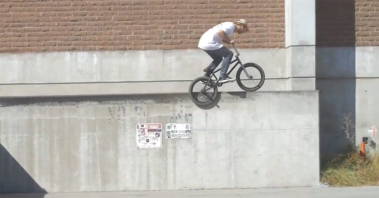 Ty Morrow Behind The Scenes BMX video