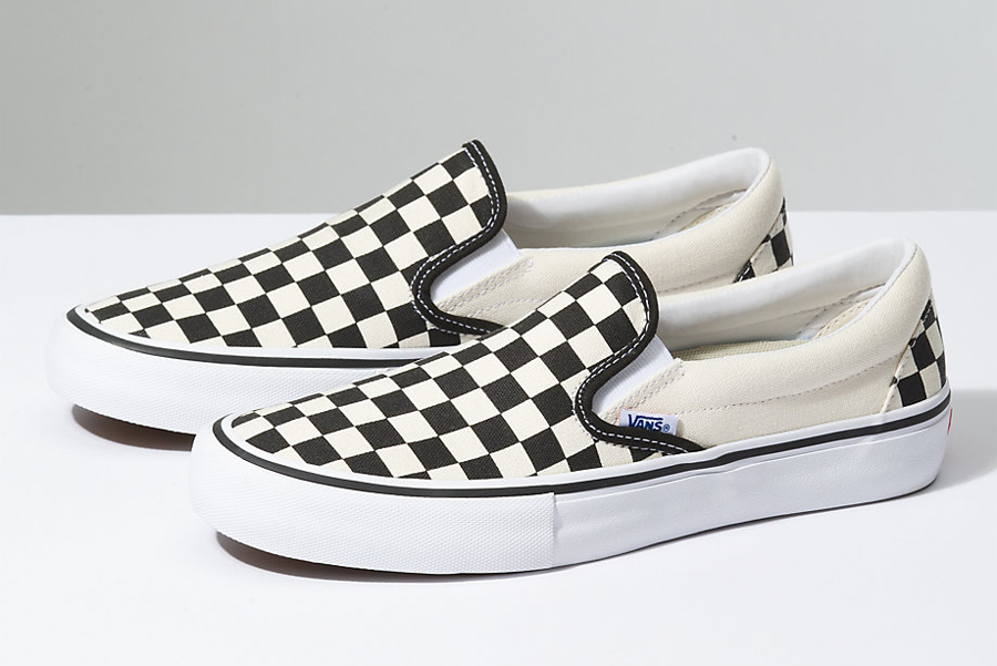Vans Slip-On Pro Shoe Checker