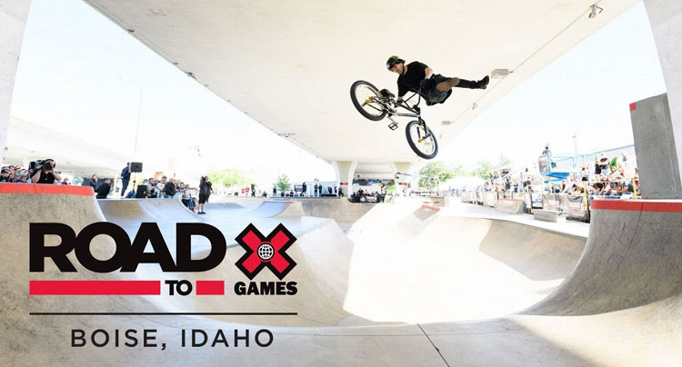 X Games Boise BMX Qualifier Video