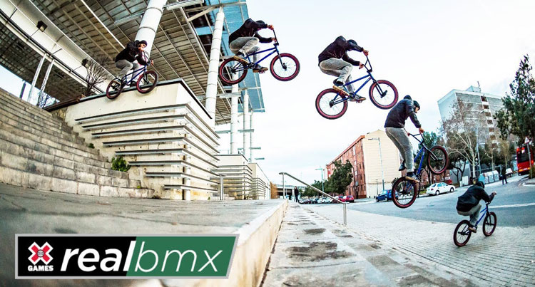 "X Games ""Real BMX"" full show"