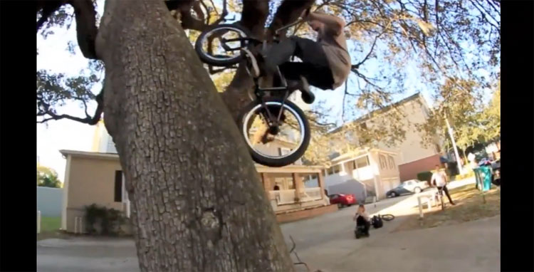 Banned 5 Mix Section BMX video