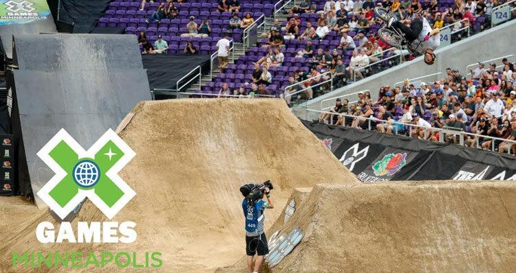 Brandon Loupos X Games 2018 BMX Dirt Gold