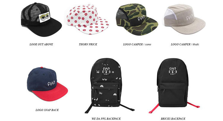 Cult BTS Summer 2018 Hats and Bags
