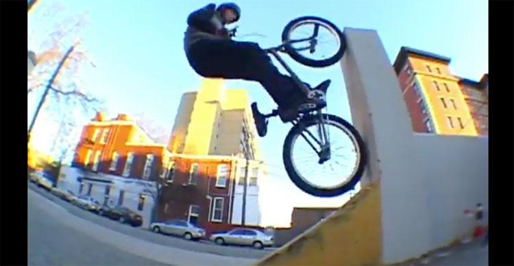 Curtis Cantwell Donovan Allen 440 Volts BMX video