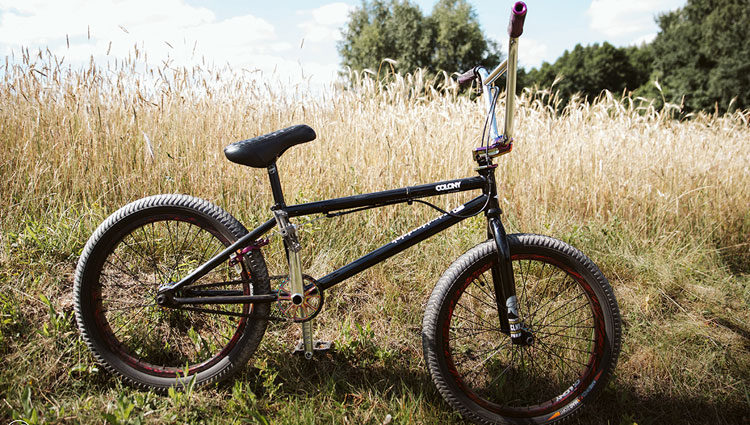 Colony BMX – Dawid Godziek Bike Check