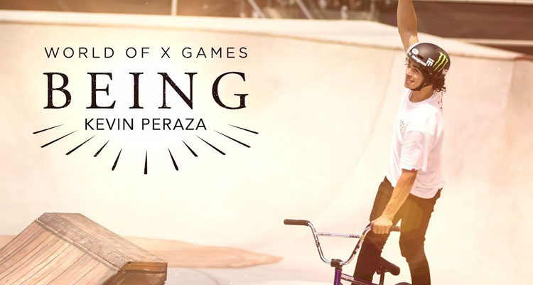 Kevin Peraza X Games Being Video