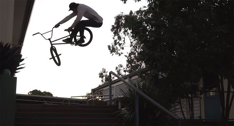Kink BMX Brock Olive BMX video