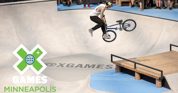 Logan Martin Wins X Games 2018 BMX Park