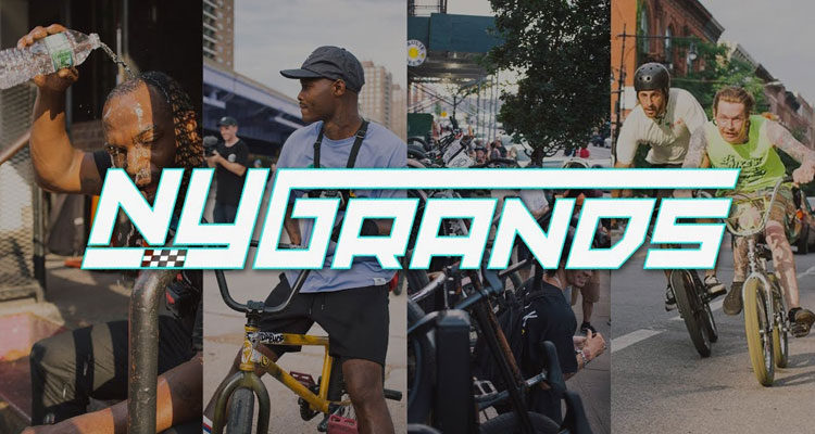 New York Grands NYC BMX video