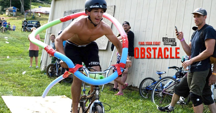 Scotty Cranmer Obstacle Course Challenge BMX video