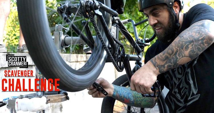 Scotty Cranmer – Scavenger Hunt Bike Build Challenge