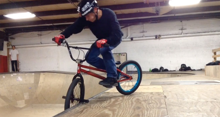 Steve Kolb Asylum Skatepark BMX video