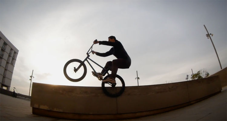 Stress BMX Spanish Winter BMX video