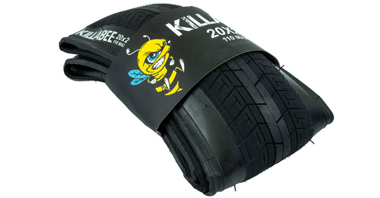 Total BMX Killabee Folding Tire BMX
