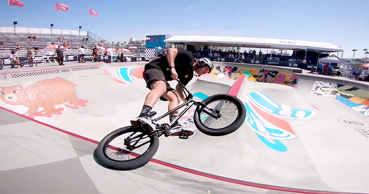 2018 Vans BMX Pro Cup Huntington Beach – Course Preview & Practice