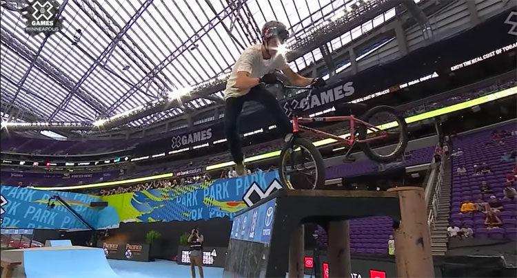 Alex Hiam Wins Dave Mirra Best Trick – X Games 2018