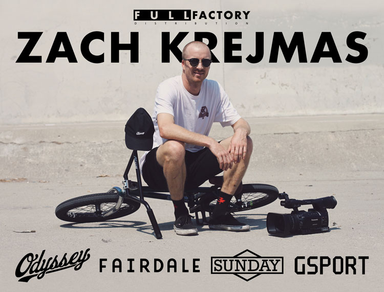 Zach Krejmas Full Factory BMX
