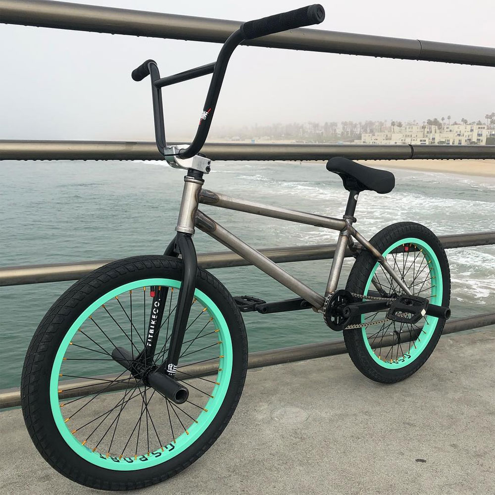 Imprimatur BMX Fit Bike Co. Sleeper BMX frame Ethan Corriere BMX