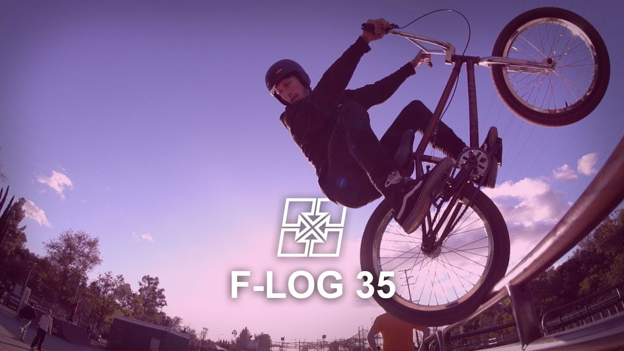 Fit Bike Co. F-Log 35 Bust Down BMX video