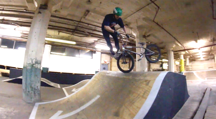 Joel Sutton Mike's Bike Park BMX video