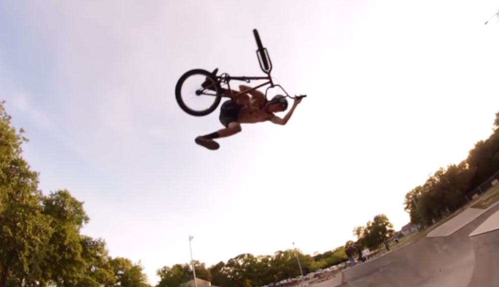 Relic BMX Clint Reynolds Home from Home BMX video