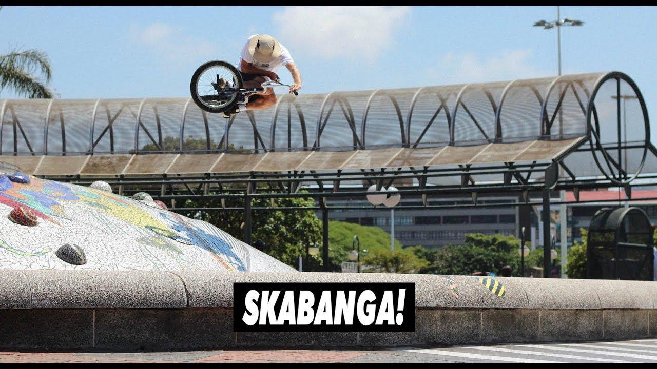 Skabanga Crew Durban Street Session BMX