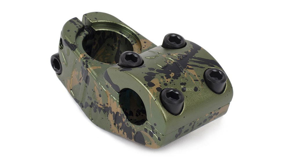 Subrosa Brand Rose Upload Stem BMX Camouflage