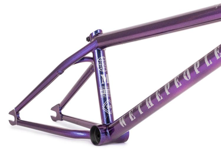 Wethepeople BMX Message Frame Galactic Purple BMX