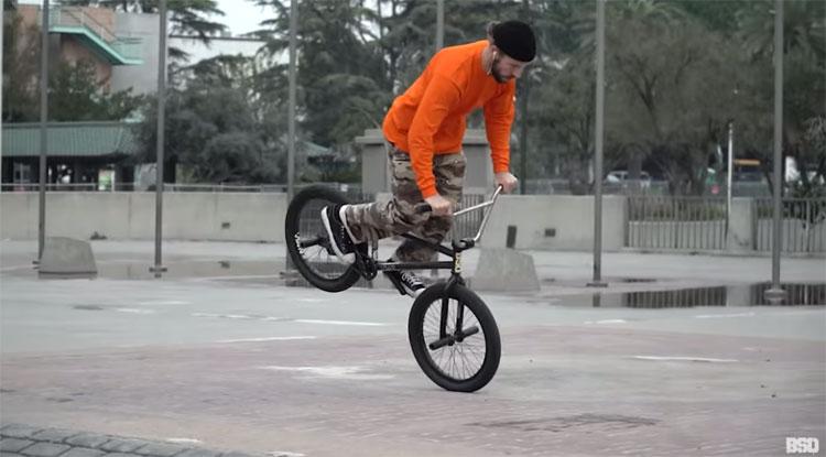BSD BMX Liam Zingbergs Kicked Outta Cali BMX video