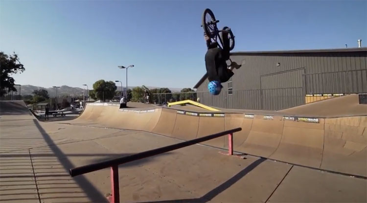 Dakota Bratt Not Your Average Woodward West BMX video