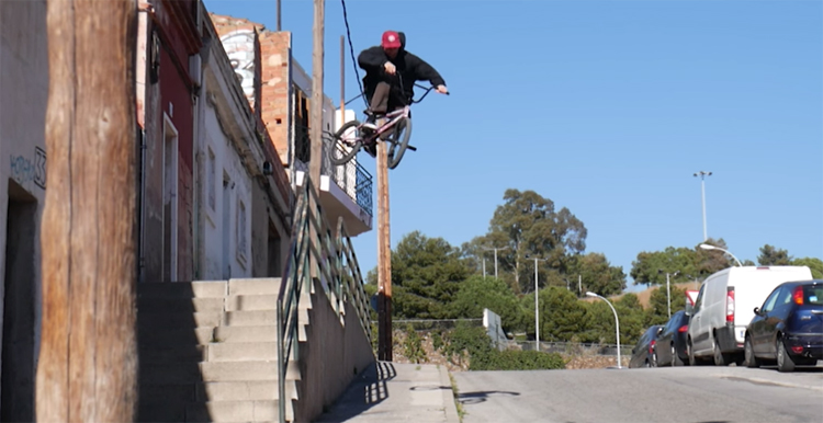 Disco Stew Barstewlona BMX video