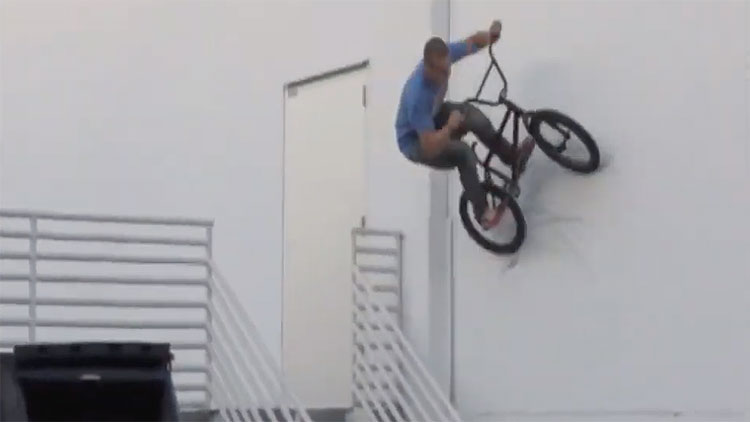 Garrett Reeves V-Club or the sake of the video bmx