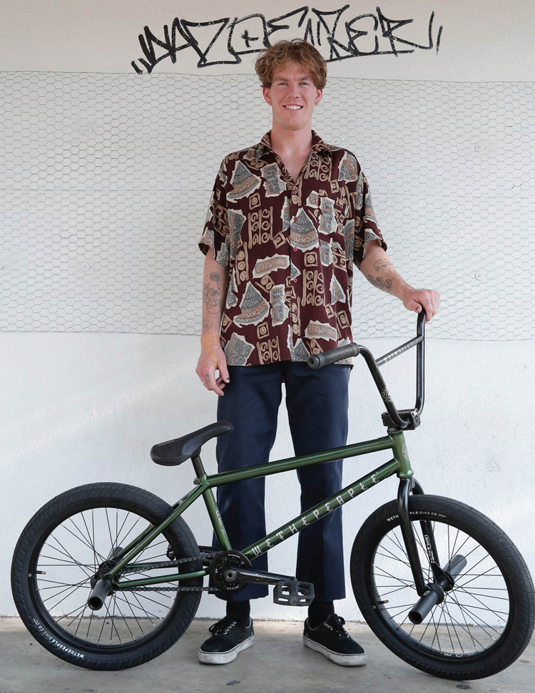 Jacman Hinss On Wethepeople BMX