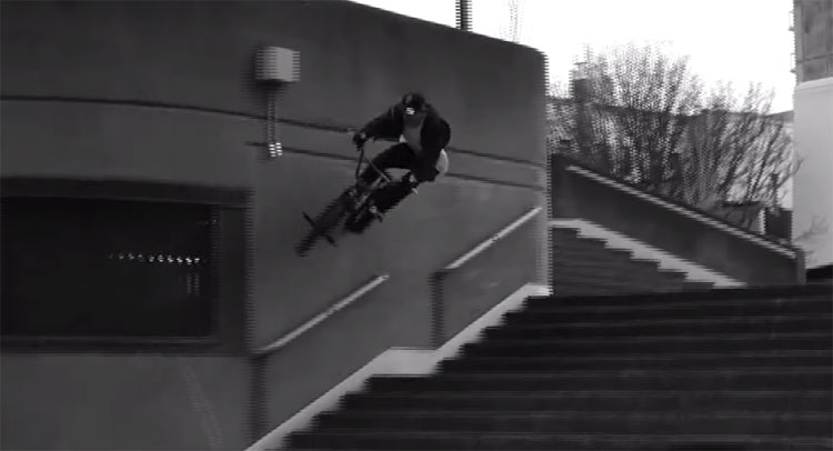 Ky Brisebois Chad Ferch BMX video
