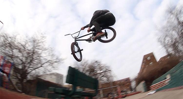 Legalized Mayhem BMX video