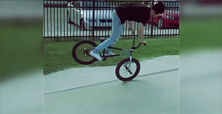 Mikey Tyra Instagram Compilation BMX video