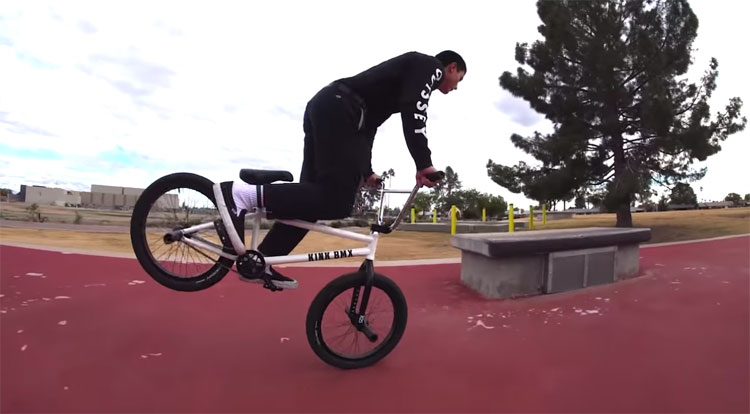 Odyssey BMX Jacob Cable Technically Speaking BMX video