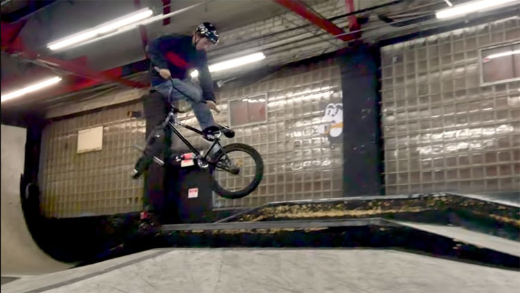 Owen Meyer Ray's MTB Cleveland BMX video