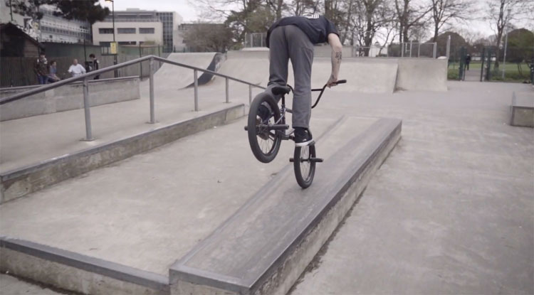Proper Plaza Session Harvey Shorey BMX