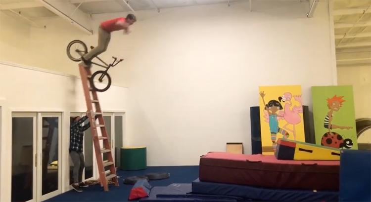 Rusty Prady BMX video