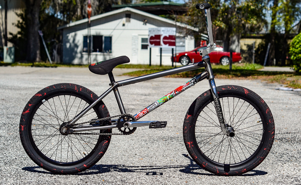 Subrosa Brand Jabe Jones Bike Check BMX