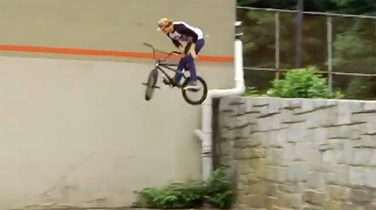Unseen Stevie Churchill BMX clips