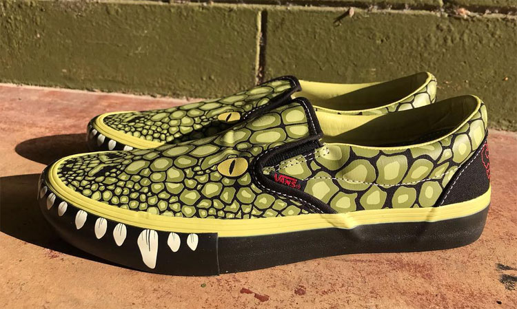 Limited Edition Swampfest Slip-Ons
