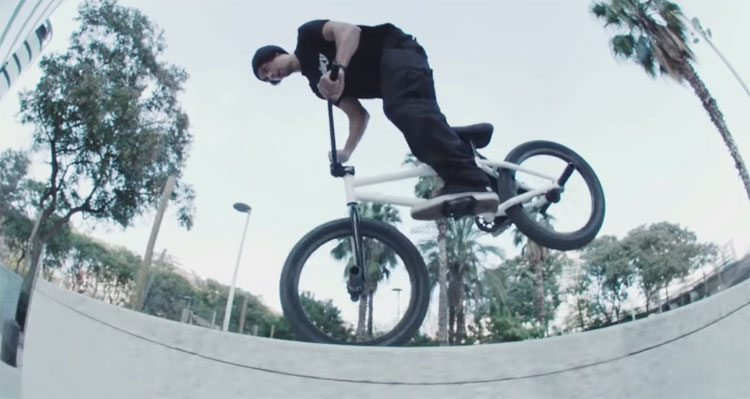 Etnies In Barcelona BMX video