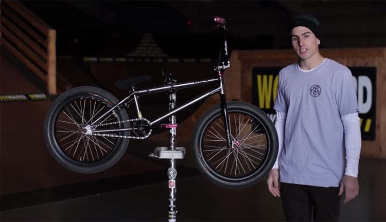 Jake Leiva Video Bike Check Hyper BMX